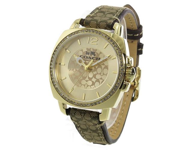 デザイン豊富で、選ぶのもわくわくなコーチ腕時計