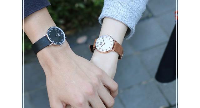 二人の時間を刻める腕時計