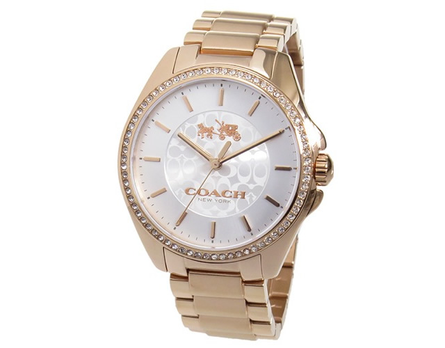 コーチのメタルバンド腕時計のおすすめポイント