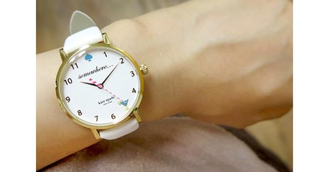 ケイトスペードのレディース腕時計はココがオススメ