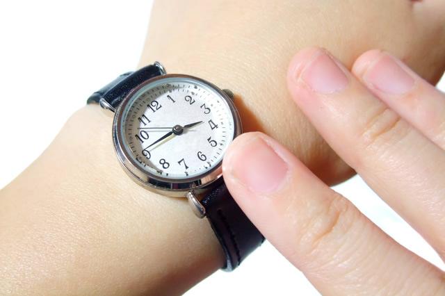 腕時計に気を配る