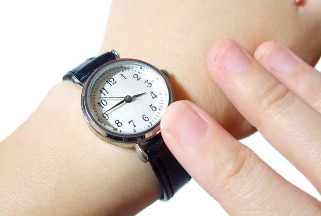 気をつけたいポイントは腕時計