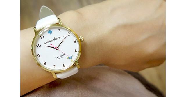 ケイトスペードのレディース腕時計のイメージ