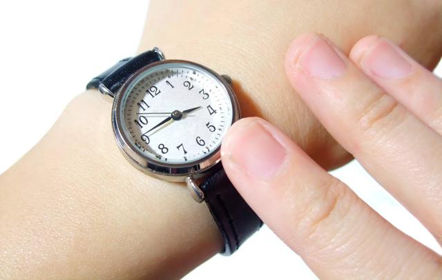腕時計をつけよう!