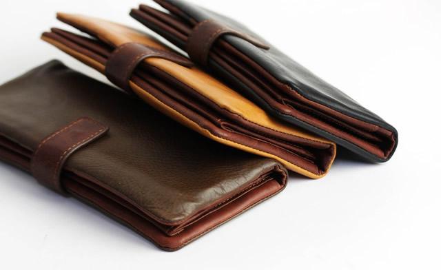 財布にこだわっている