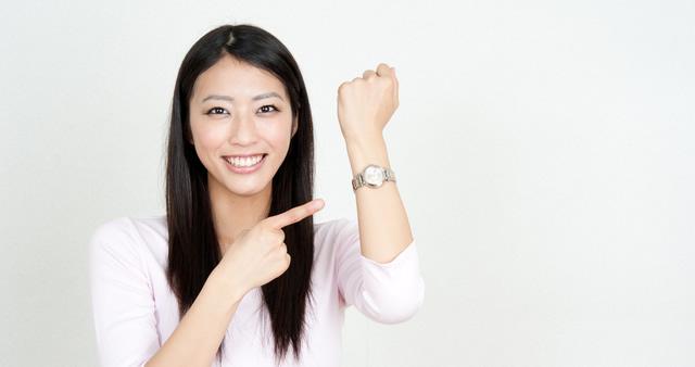 腕時計をつけるメリット