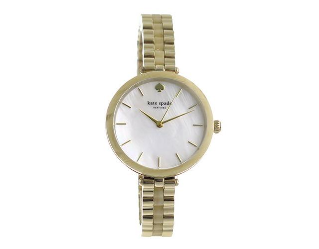 ケイトスペードメタルバンド腕時計