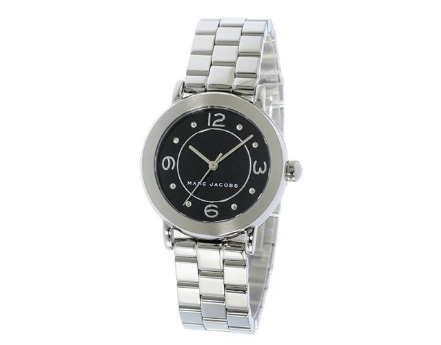 マークジェイコブスメタルバンド腕時計