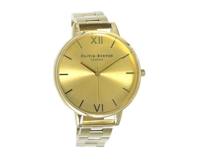 オリビアバートンメタルバンド腕時計