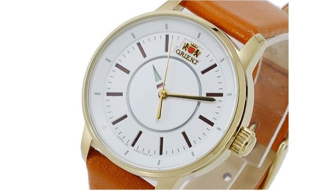 オリエント革ベルト腕時計