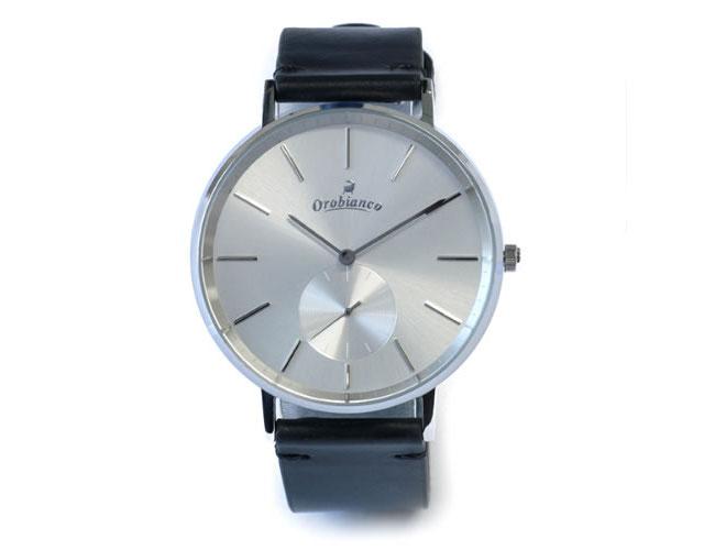 オロビアンコ革ベルト腕時計