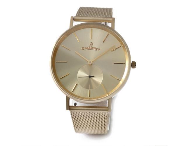 オロビアンコメタルバンド腕時計