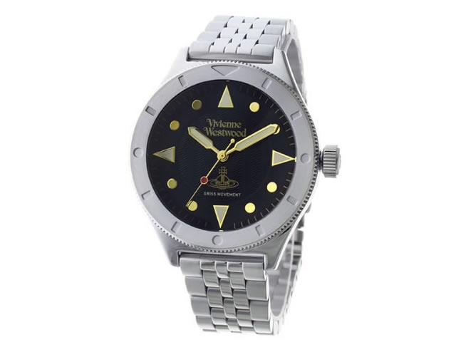 ヴィヴィアンメタルバンド腕時計