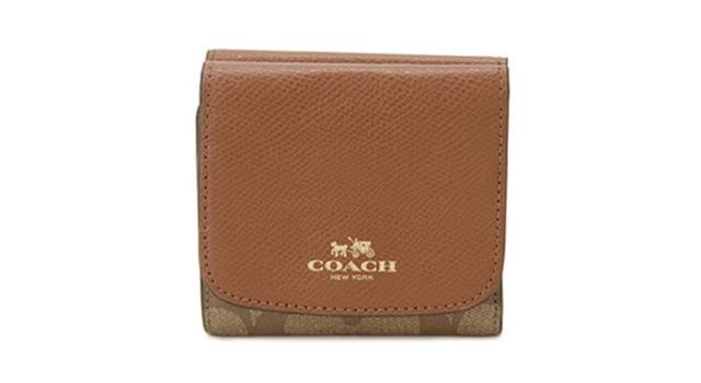 コーチ短財布
