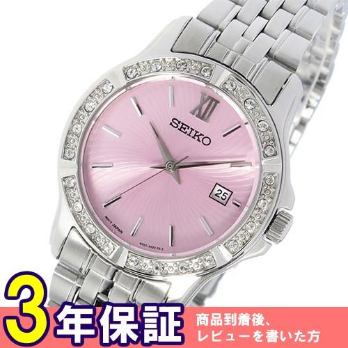 セイコー SEIKO クオーツ レディース 腕時計 SUR739P1 ピンク