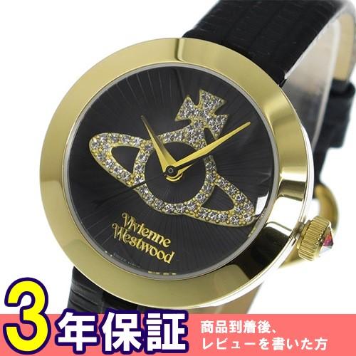 ヴィヴィアン ウエストウッド クオーツ レディース 腕時計 VV150GDBK ブラック