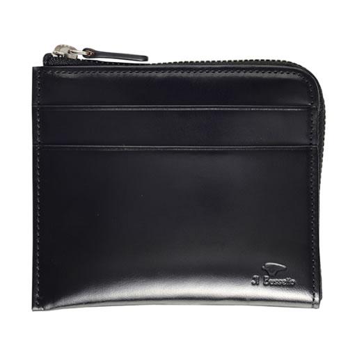 イル ブセット L字型ジップ 短財布 11-070 ブラック 7815159 国内正規