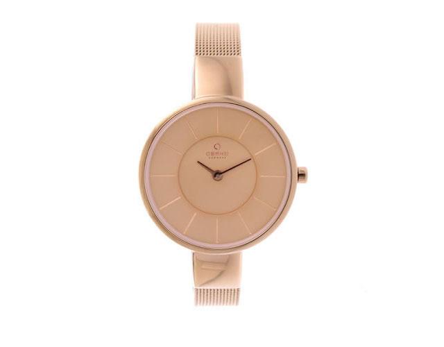オバクメタルバンド腕時計