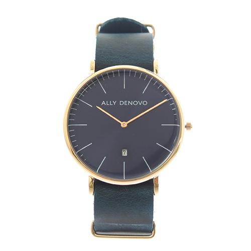 アリーデノヴォ革ベルト腕時計