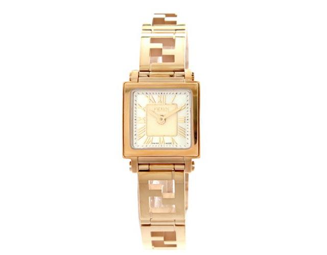 フェンディメタルバンド腕時計