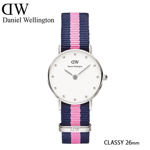 ダニエル ウェリントン ウィンチェスター/シルバー 26mm クオーツ 腕時計 0926DW