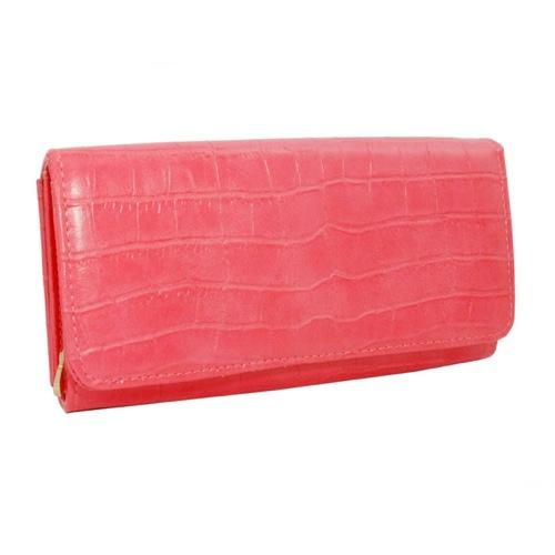 モーダリュクス Moda luxe フェイクレザー 長財布 10267-PINK ピンク