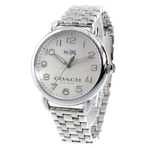 コーチ COACH デランシー クオーツ レディース 腕時計 14502260 ホワイト
