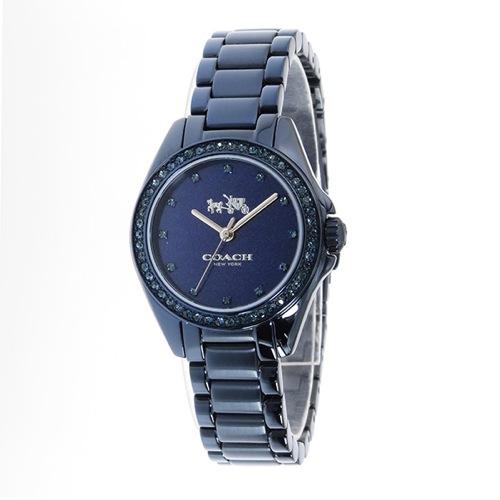 コーチ トリステン ミニ クオーツ レディース 腕時計 14502345 メタリックブルー