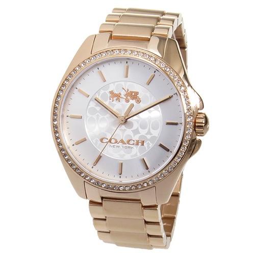 コーチ COACH トリステン クオーツ レディース 腕時計 14502471 ホワイトシルバー