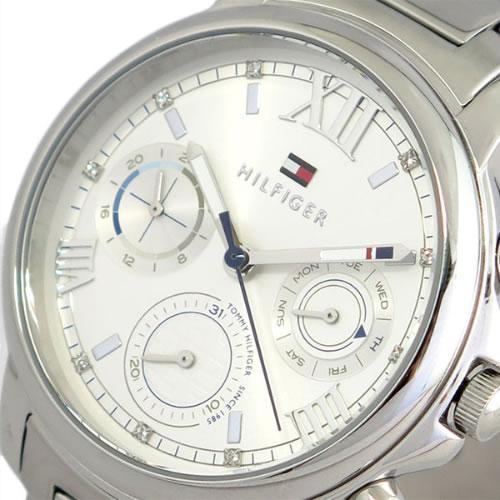 トミーヒルフィガー TOMMY HILFIGER 腕時計 レディース 1781741 クォーツ シルバー></a><p class=blog_products_name