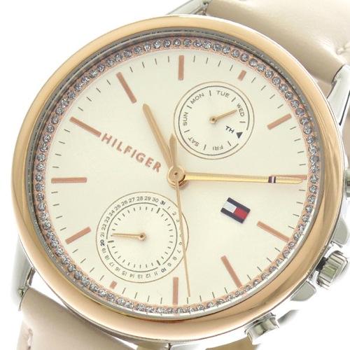 トミーヒルフィガー TOMMY HILFIGER 腕時計 レディース 1781913 クォーツ シルバー ライトピンク></a><p class=blog_products_name