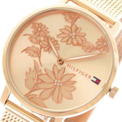 トミーヒルフィガー TOMMY HILFIGER 腕時計 レディース 1781922 クォーツ ピンクゴールド></a><p class=blog_products_name