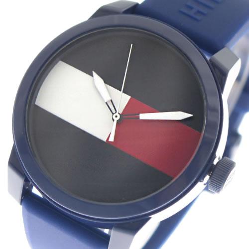トミーヒルフィガー 腕時計 メンズ レディース 1791322 ネイビー></a><p class=blog_products_name