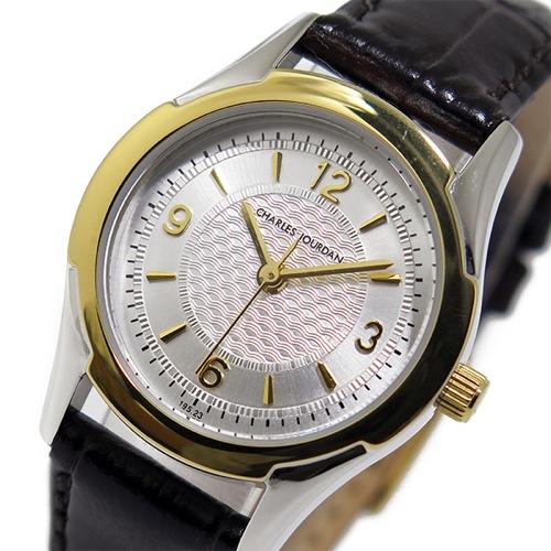 シャルル ジョルダン CHARLES JOURDAN クオーツ レディース 腕時計 195236 シルバー