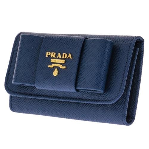 プラダ キーケース レディース 1PG222S_FIOCCO-BLU