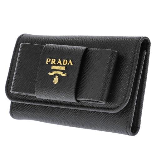プラダ キーケース レディース 1PG222S_FIOCCO-NER
