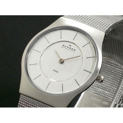 スカーゲン SKAGEN ウルトラスリム 腕時計 233SSS