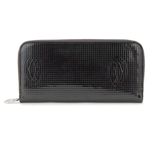 カルティエ CARTIER ハッピーバースデー 長財布 レディース 3001285 ブラック