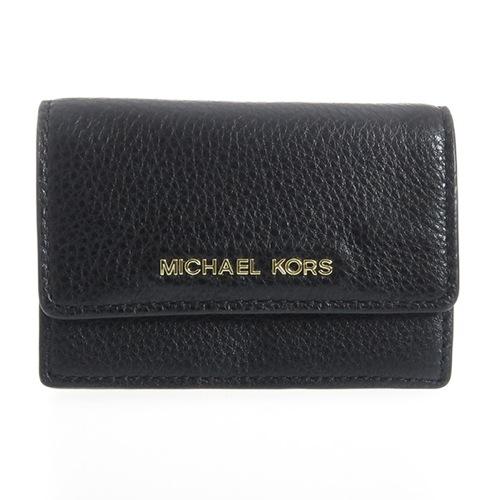 マイケルコース MICHAEL KORS レディース カードケース 32F5GDDD5T001 ブラック
