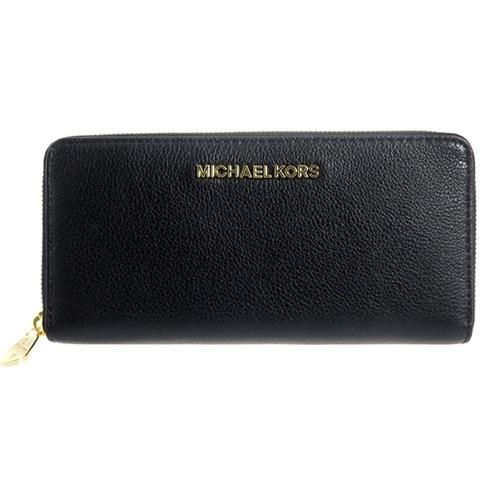マイケルコース MICHAEL KORS レディース ラウンド 長財布 32H2MBFE1L001 ブラック