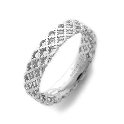 グッチ 指輪 レディース 18号 341236-J8500/9000/19 シルバー