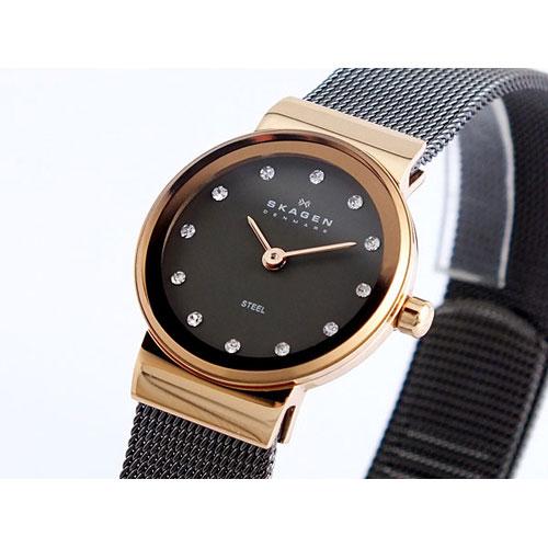 スカーゲン SKAGEN メッシュ 腕時計 358XSRM