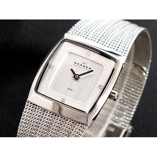 スカーゲン SKAGEN メッシュ 腕時計 380XSSS1
