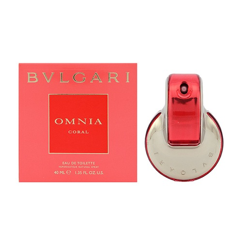 ブルガリ オムニア コーラル レディース 香水 ET/SP/40ml 4033-BV-40