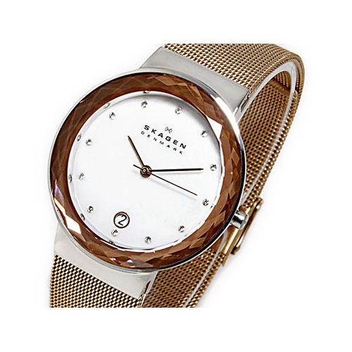 スカーゲン SKAGEN クオーツ レディース 腕時計 456LSR