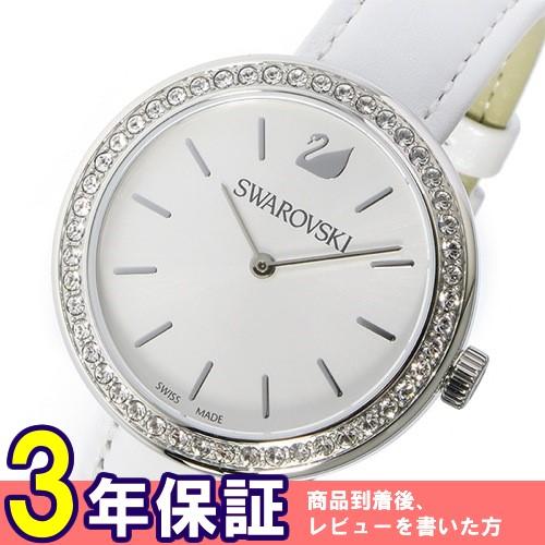 スワロフスキー SWAROVSKI デイタイム クオーツ レディース 腕時計 5095603 ホワイト