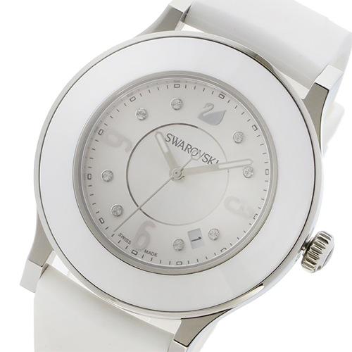 スワロフスキー オクティクラシカ クオーツ レディース 腕時計 5099356 ホワイト