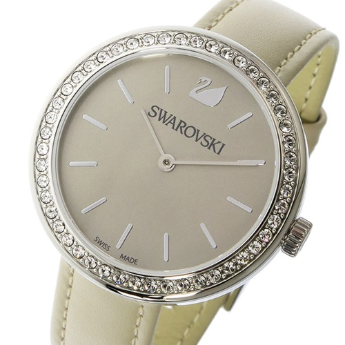 スワロフスキー SWAROVSKI クオーツ レディース 腕時計 5130547 ベージュ