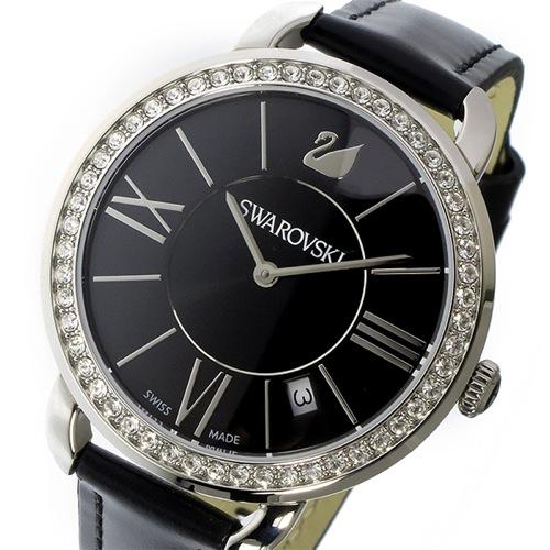 スワロフスキー アイラ・デイ クオーツ レディース 腕時計 5172151 ブラック