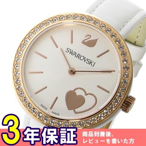 スワロフスキー SWAROVSKI クオーツ レディース 腕時計 5179367 ホワイト